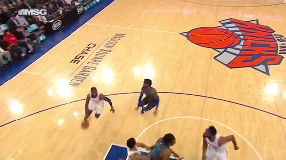 Knicks Highlights: Hardaway Jr. gets two points and the foul