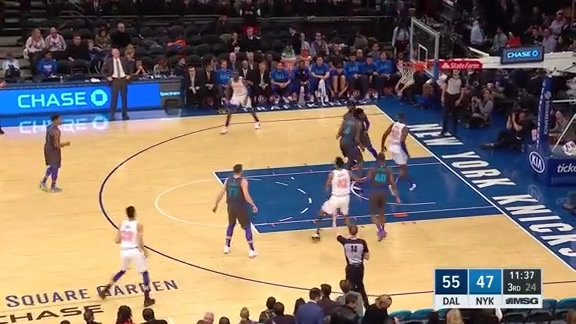 Knicks Highlights: Trey Burke (16 Points) | Jan 30 vs. Mavericks