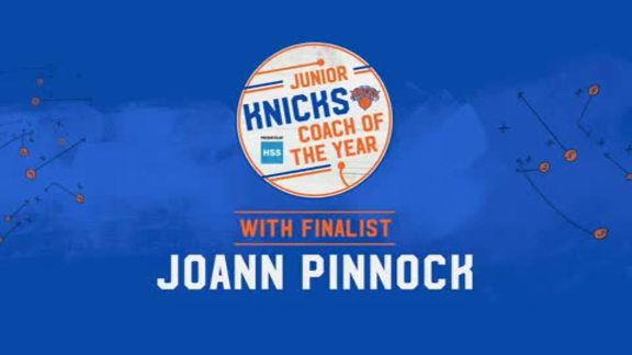 Junior Knicks Coach of the Year Presented by HSS | Finalist Joann Pinnock