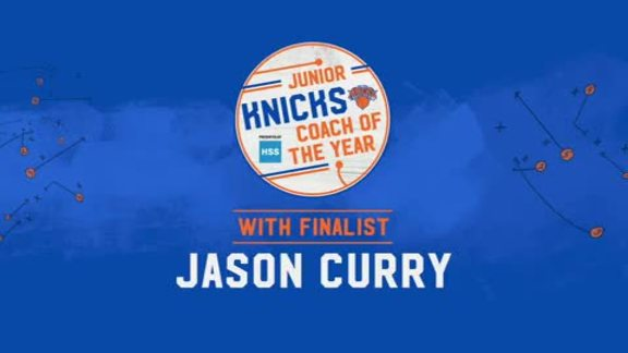 Junior Knicks Coach of the Year Presented by HSS | Finalist Jason Curry