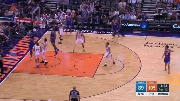 Knicks Highlights: Robinson with the huge block on Booker | New York