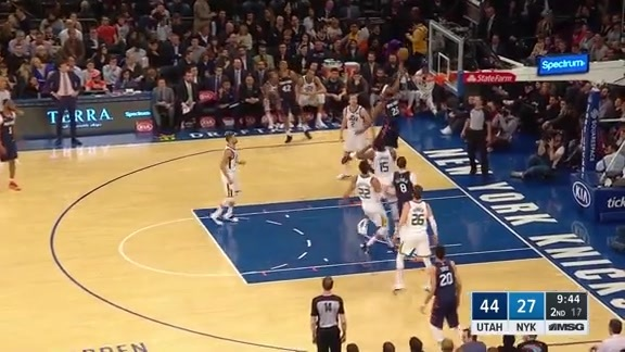 Knicks Highlights: Robinson skies for the alley-oop