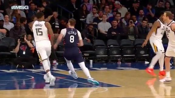 Knicks Highlights: Hezonja scores and draws the foul