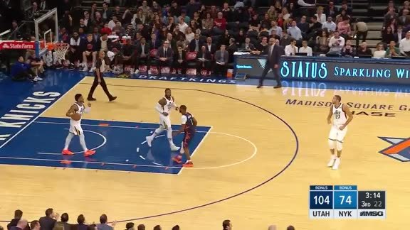 Knicks Highlights: Hezonja nails it from beyond the arc
