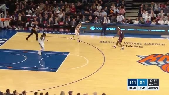 Knicks Highlights: Knox finds Robinson for the easy bucket