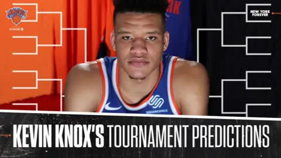 Kevin Knox's Tournament Predictions | March Madness