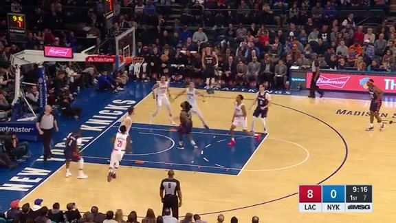 Knicks Highlights: Mudiay and Jordan connect for the oop