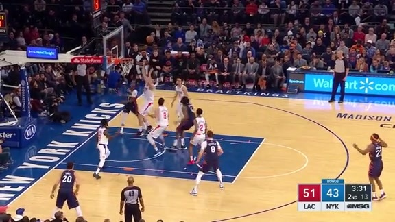 Knicks Highlights: Mudiay finds Jordan for another big oop