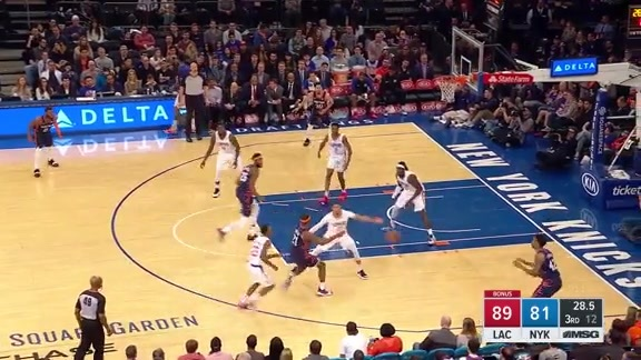 Knicks Highlights: Lance Thomas Top Plays | Week 23