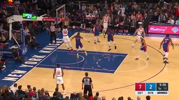Knicks Highlights: Hezonja finds Robinson rolling to the rim