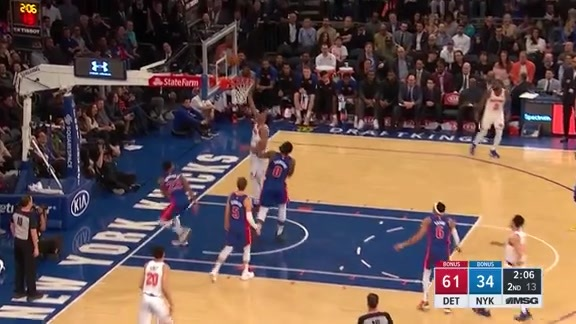 Knicks Highlights: Jenkins threads the needle to Hicks