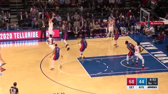Knicks Highlights: Kornet hits from way downtown