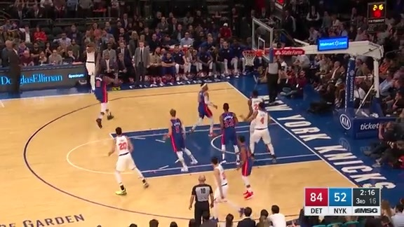 Knicks Highlight: Allen nails the three