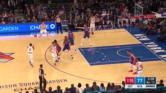 Game Highlights: Knicks 89 | Pistons 115