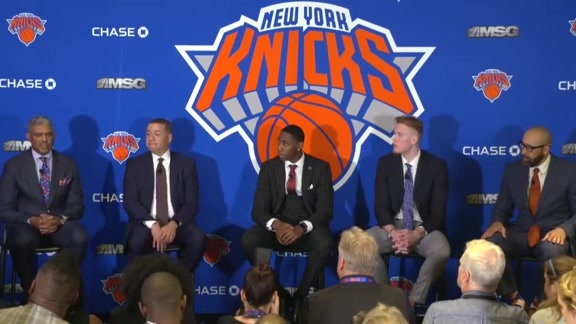 2019 NBA Draft | RJ Barrett & Ignas Brazdeikis Introductory Press Conference