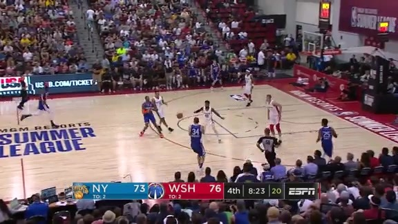 Summer League Highlights: Knicks 103 | Wizards 87