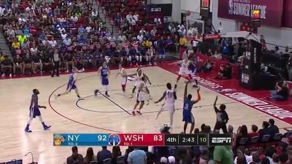Summer League Highlights: RJ Barrett (21 Pts / 8 Reb / 10 Ast) | July 13 vs. Wizards