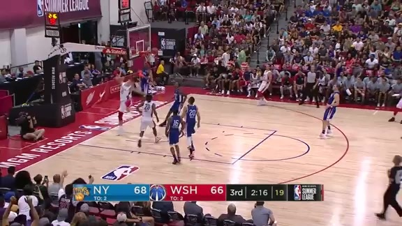 Kenny Wooten With His Fifth Block of the Game | 2019 NBA Summer League