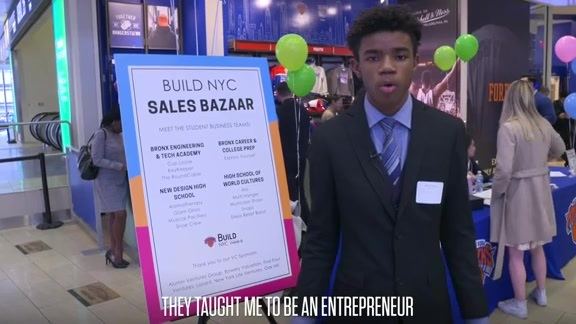 Knicks x Chase: BUILD NYC | Growing Youth Business Skills