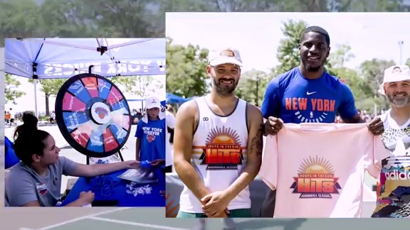 Knicks x Hoops in the Sun | Youth Streetball Clinic