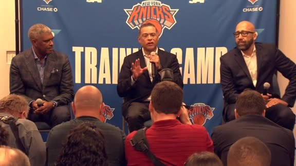 2019 Media Day | Knicks Front Office Press Conference