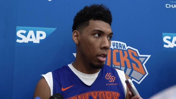 2019 Training Camp | Day 4: Allonzo Trier