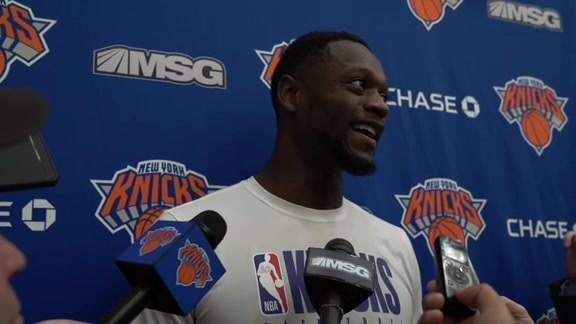 Knicks Practice: Julius Randle | October 17