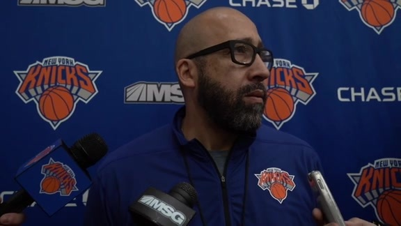 Knicks Practice: Coach Fizdale | October 17