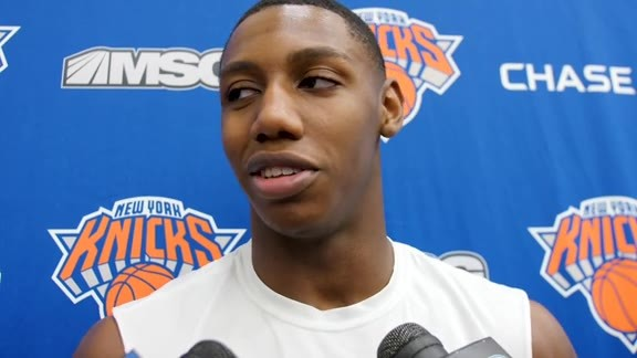 Knicks Practice: RJ Barrett | October 22