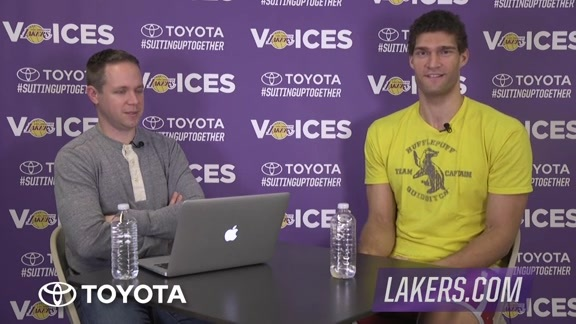 Lakers Voices: Brook Lopez
