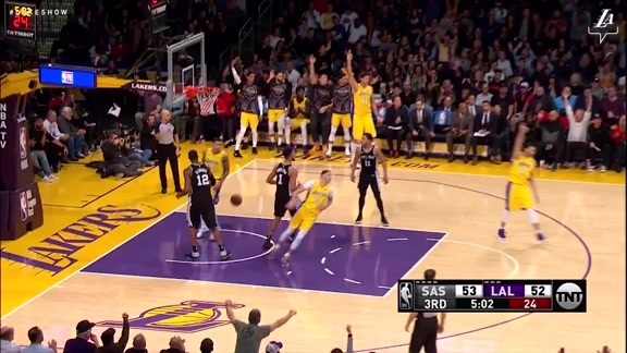 Larry Nance Jr. vs. Spurs