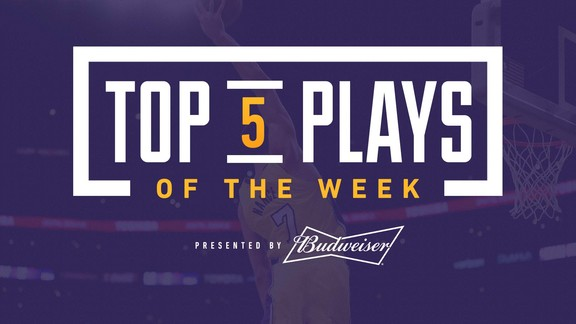 Top 5 Plays of the Week (1/12/18)
