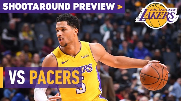 Shootaround Preview: Pacers (1/19/18)