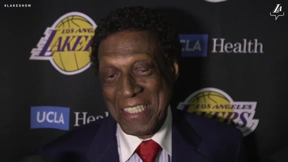Elgin Baylor Talks About Being Honored With A Statue