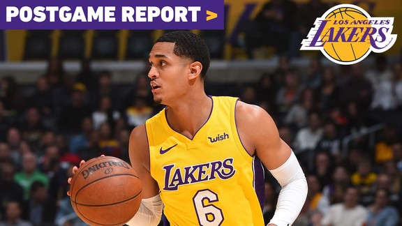 Postgame Report: Clarkson's 33 help Lakers knock off Indiana