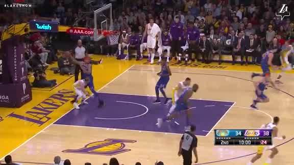 Caruso Finishes Through Contact