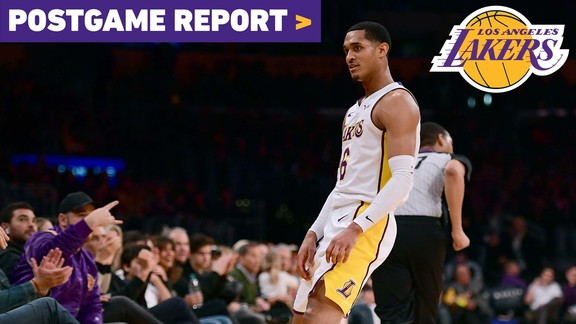 Postgame Report: Randle and Clarkson's Double-Doubles Lead Lakers to 5th Straight Home Win