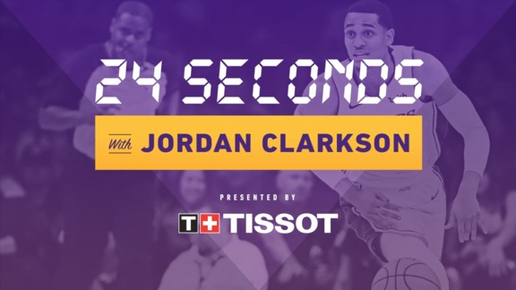 24 Seconds with: Jordan Clarkson