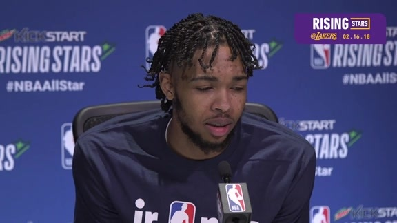 Rising Stars Practice: Brandon Ingram (2/16/18)