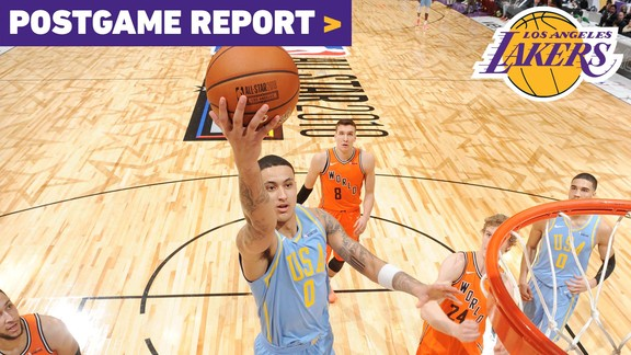 Postgame Report: Kuzma and Ingram Combine for 28 In Rising Stars Challenge