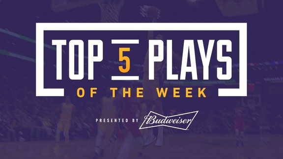 Top 5 Plays of the Week (2/17/18)