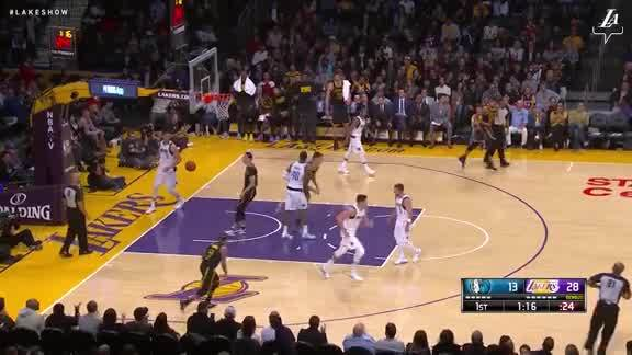 Ball to Zubac