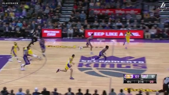 HIGHLIGHTS: Lakers at Kings