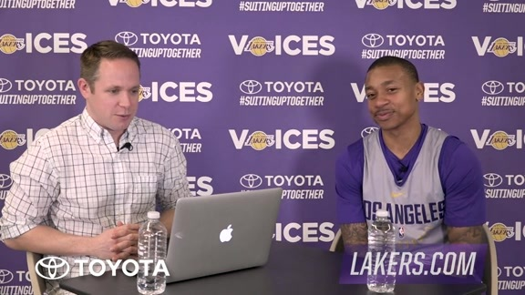 Lakers Voices: Isaiah Thomas
