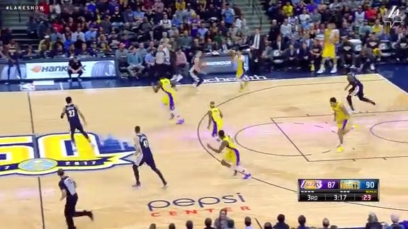 HIGHLIGHTS: Lakers at Nuggets (3/9/18)