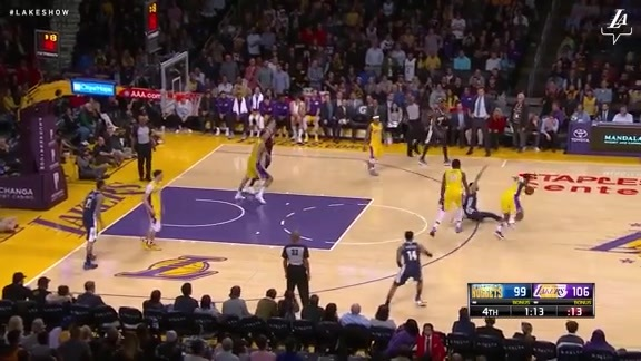 HIGHLIGHTS: Lakers vs. Nuggets