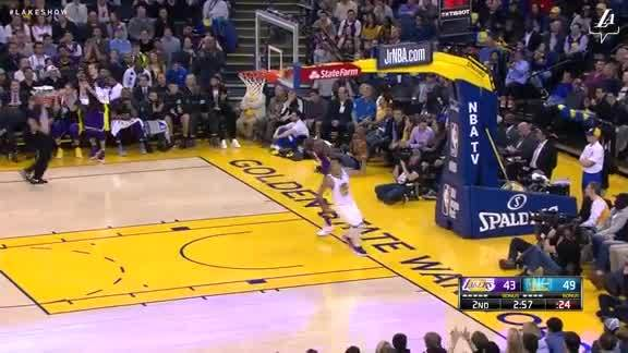 Randle's Steal and Slam