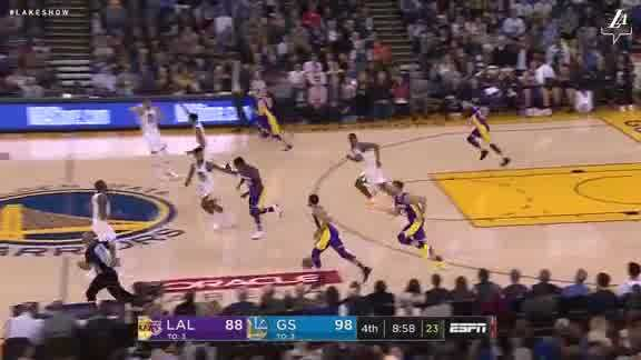 Block by Lonzo Ball