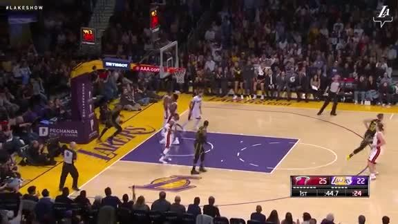 Randle's Steal and Score