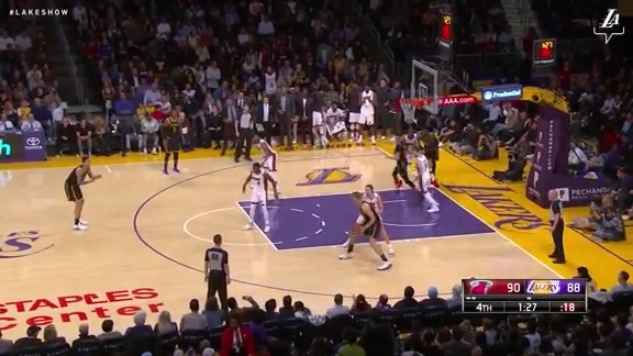 HIGHLIGHTS: Lakers vs. Heat